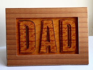 Finished Fathers Day Card