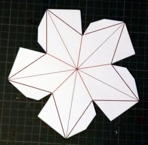 Flat Backed Star template.