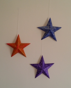 Flat Backed Star Christmas Project.