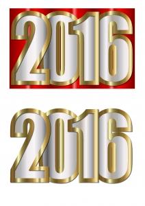 New Year 3d Decoupage