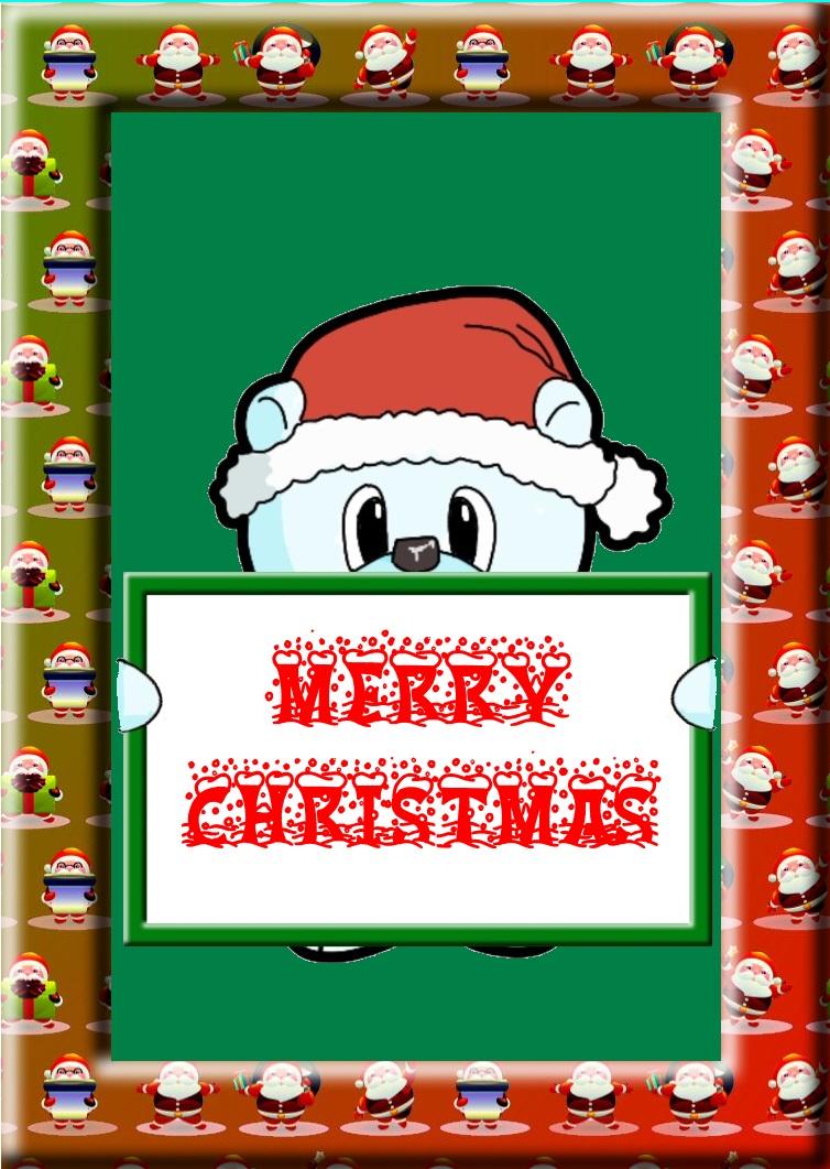 Bear Father Christmas.