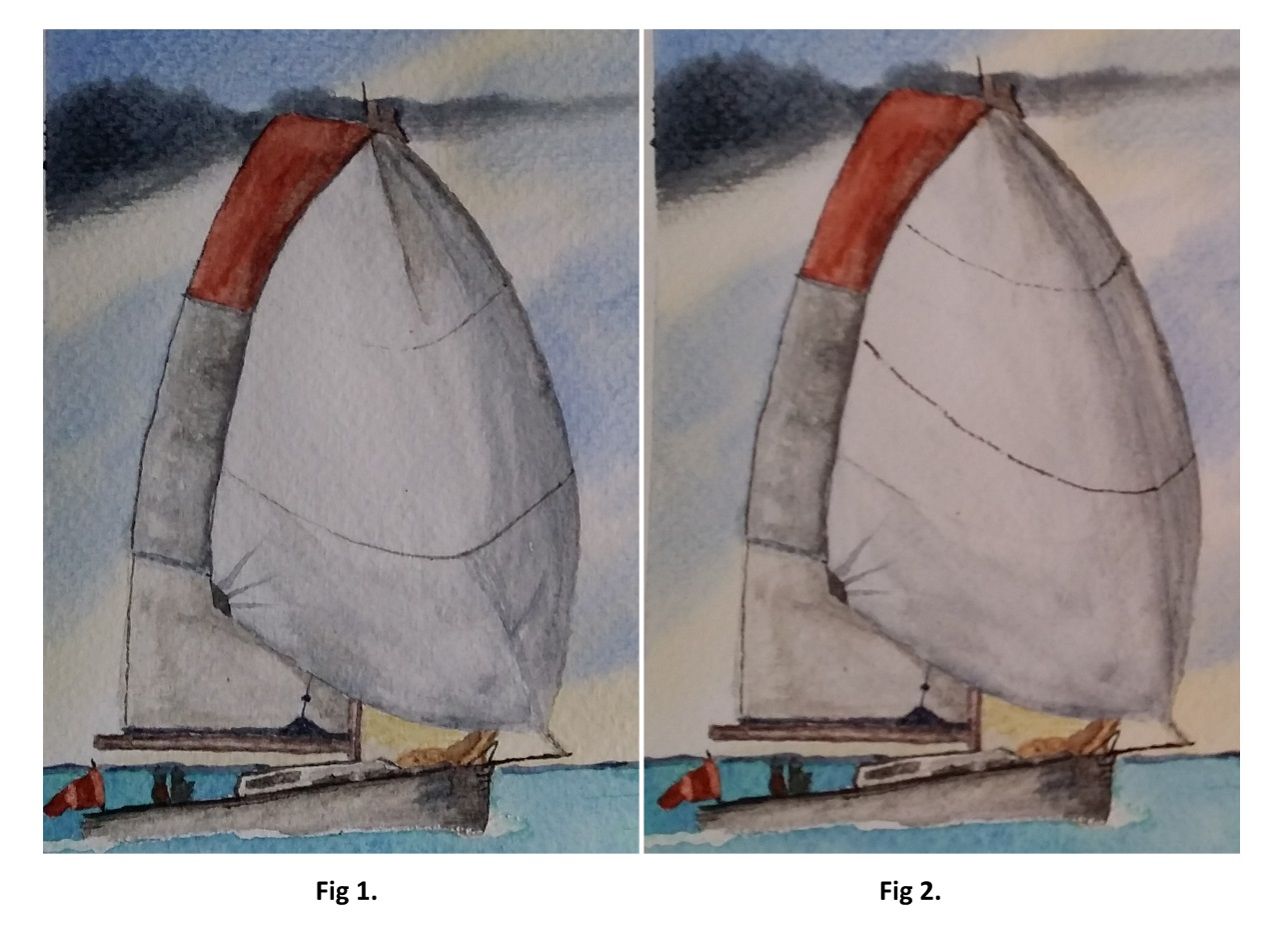 Watercolour Painting Corrections.