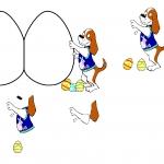 Easter Egg Decoupage