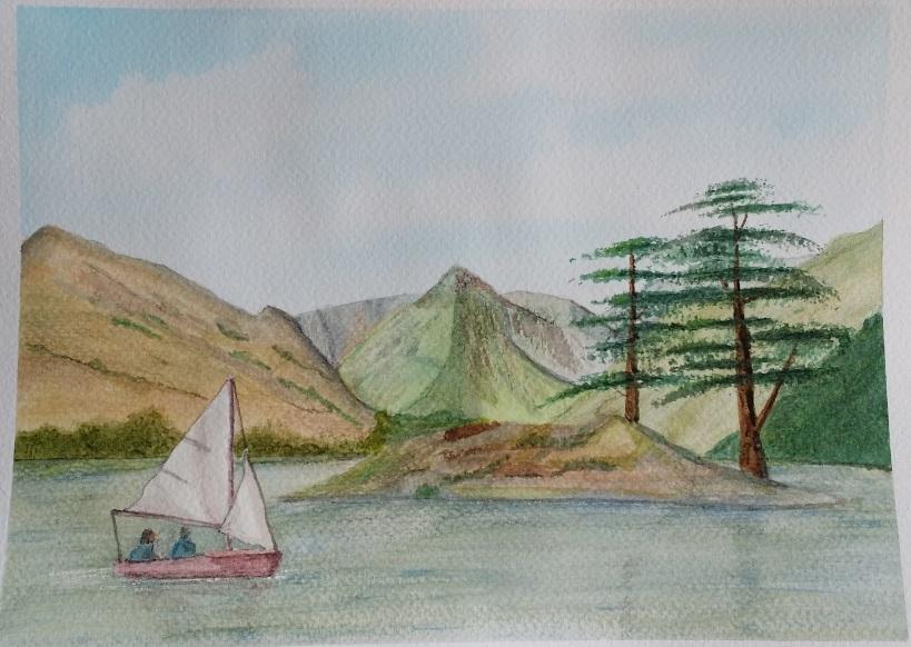 Sailing Dinghy Lake District