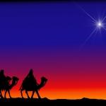 Christmas Silhouettes 3 Kings.