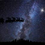 Christmas Silhouettes Sleigh