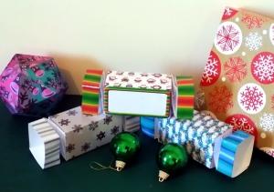 Christmas Cracker Favour Box