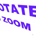 Rotate ansd zoom.