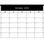 Downloadable 2018 Calendars.