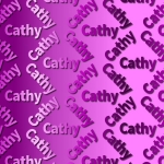 Cathy Backing Paper.
