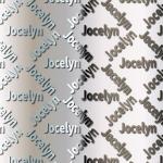 Jocelyn Backing Paper.