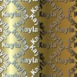 Kayla Backing Paper.