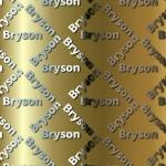 Bryson Craft Paper.