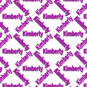 Kimberly Name Paper.