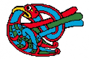 Celtic Cross Stitch.
