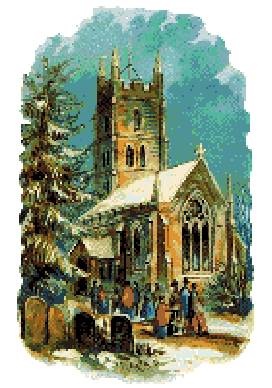 Christmas Church.