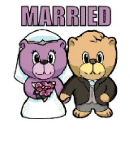 Married Bears Chart (Wedding).