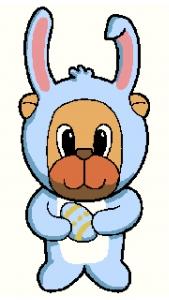 Easter Rabbit Bear.