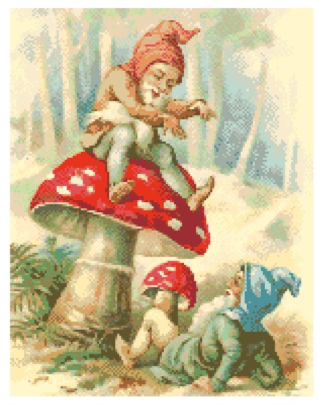 Elves and Toadstool.
