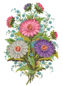 Flowers Traditional Design 2.