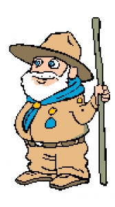 Traditional Scout Leader.