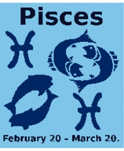 Pisces Zodiac Chart (New Style).