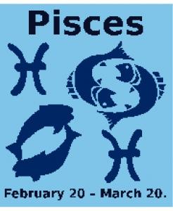 Pisces Zodiac Chart (New Style).