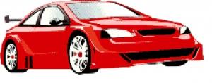 Car Cross Stitch.