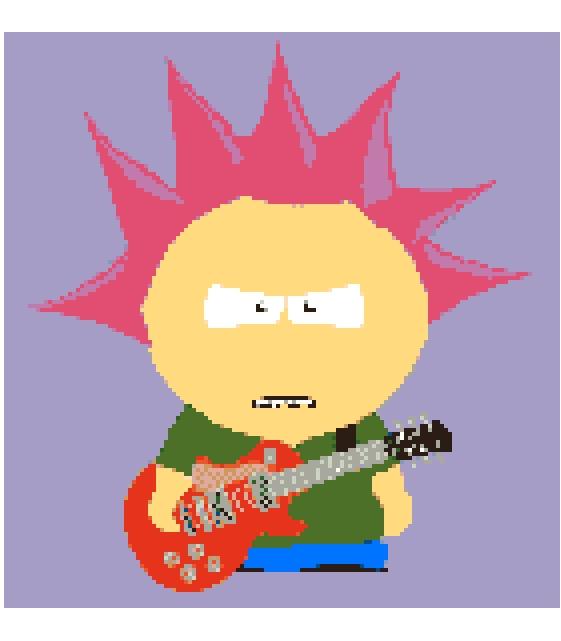 Teen Guitar Player.