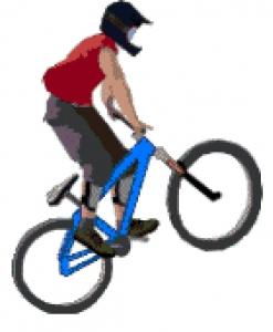 Cyclist (Bike).