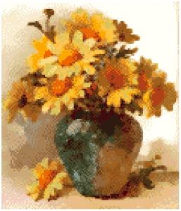Flower and Vase.