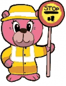 Lollipop Bear (School Cross Guard).
