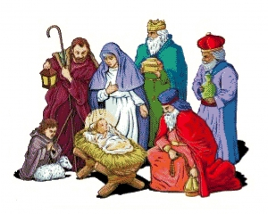 Nativity Christmas.