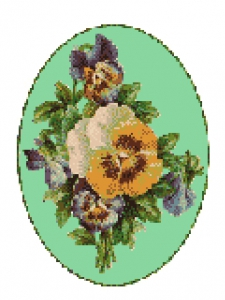 Pansy Chart Design.