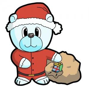 Santa Claus Bear.
