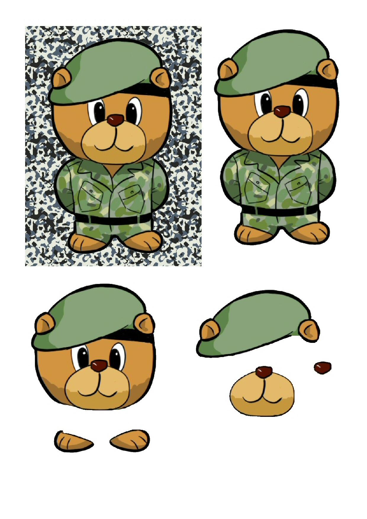 Army Bear.