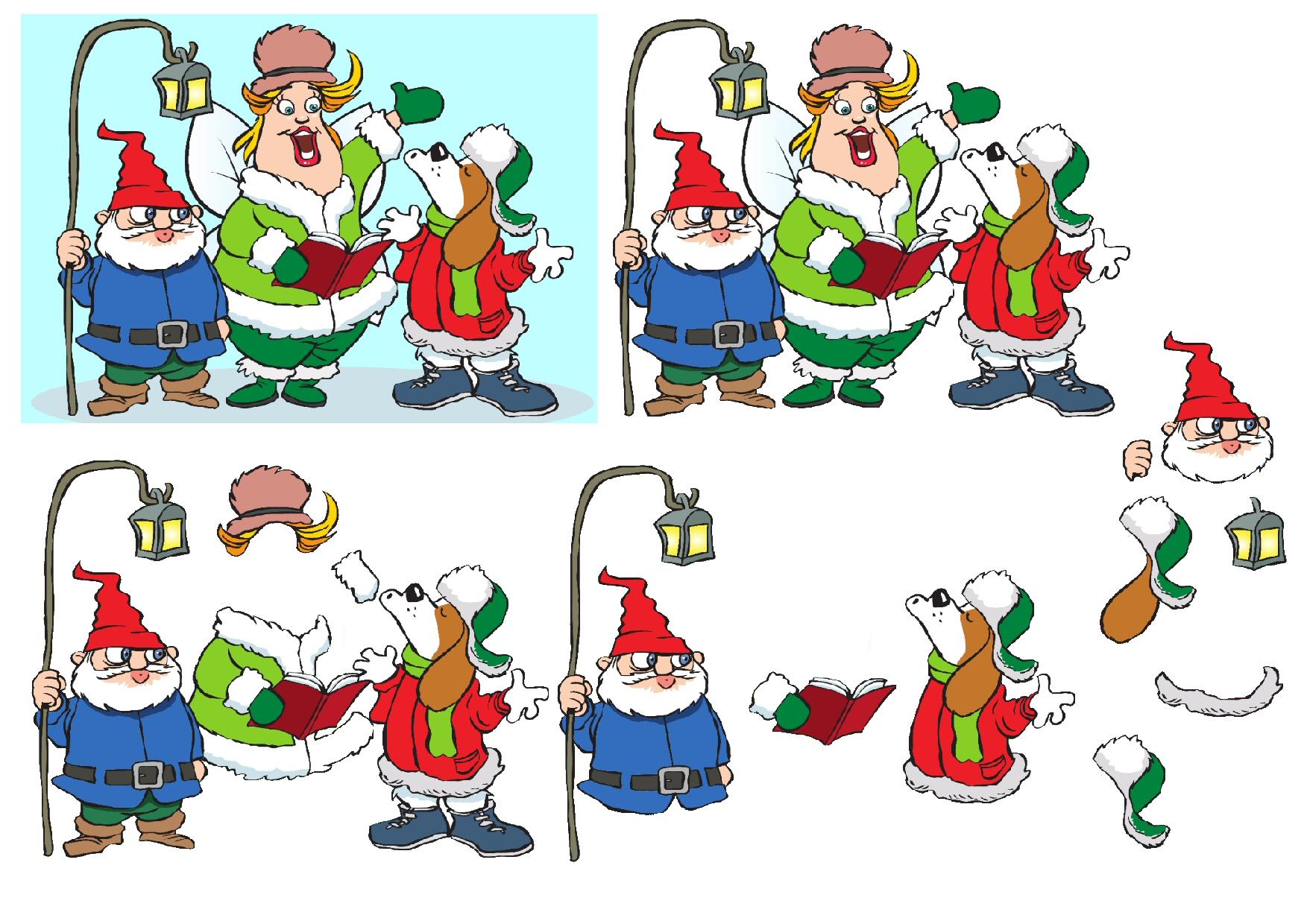 Christmas Carolling (carol singers) free papers.