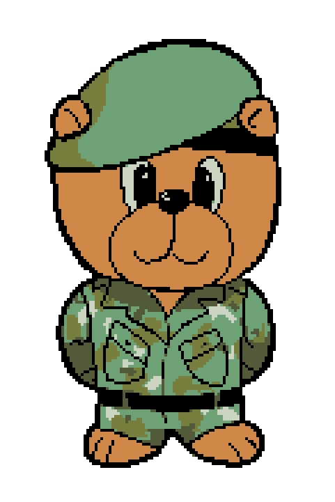 Army Bear (New Version).