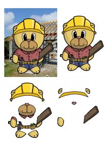 Builder Bear Craft Papers.