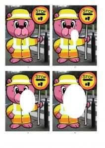 Lollipop Bear / Crossing Guard.