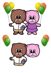 Party Bears.