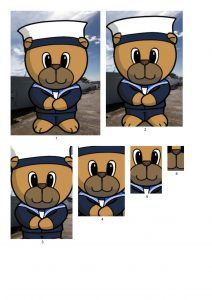 Sailor Bear Male.