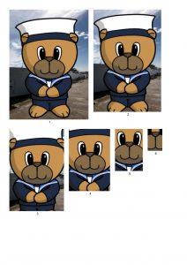 Sailor Bear Male.