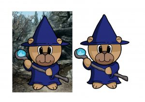 Wizard Bear.