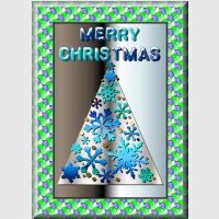 Christmas Tree Card.