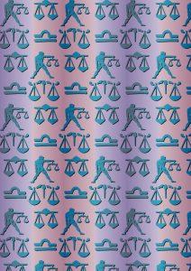 Libra Zodiac Papers.
