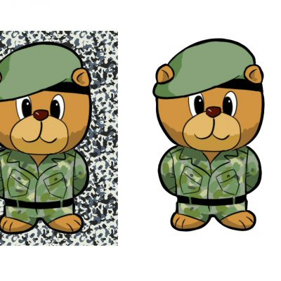 a5_army_bear_decoupage_a