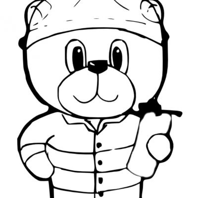 a5_fireman_bear_ddigi_stamp