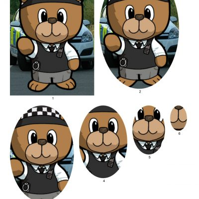 police_bear_pyramid_paper_01