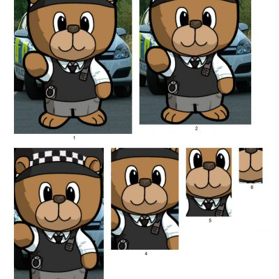 police_bear_pyramid_paper_04